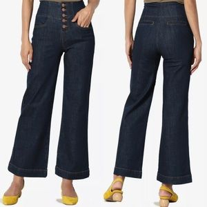 Black Label The Mogan High Rise Wide Leg Jeans